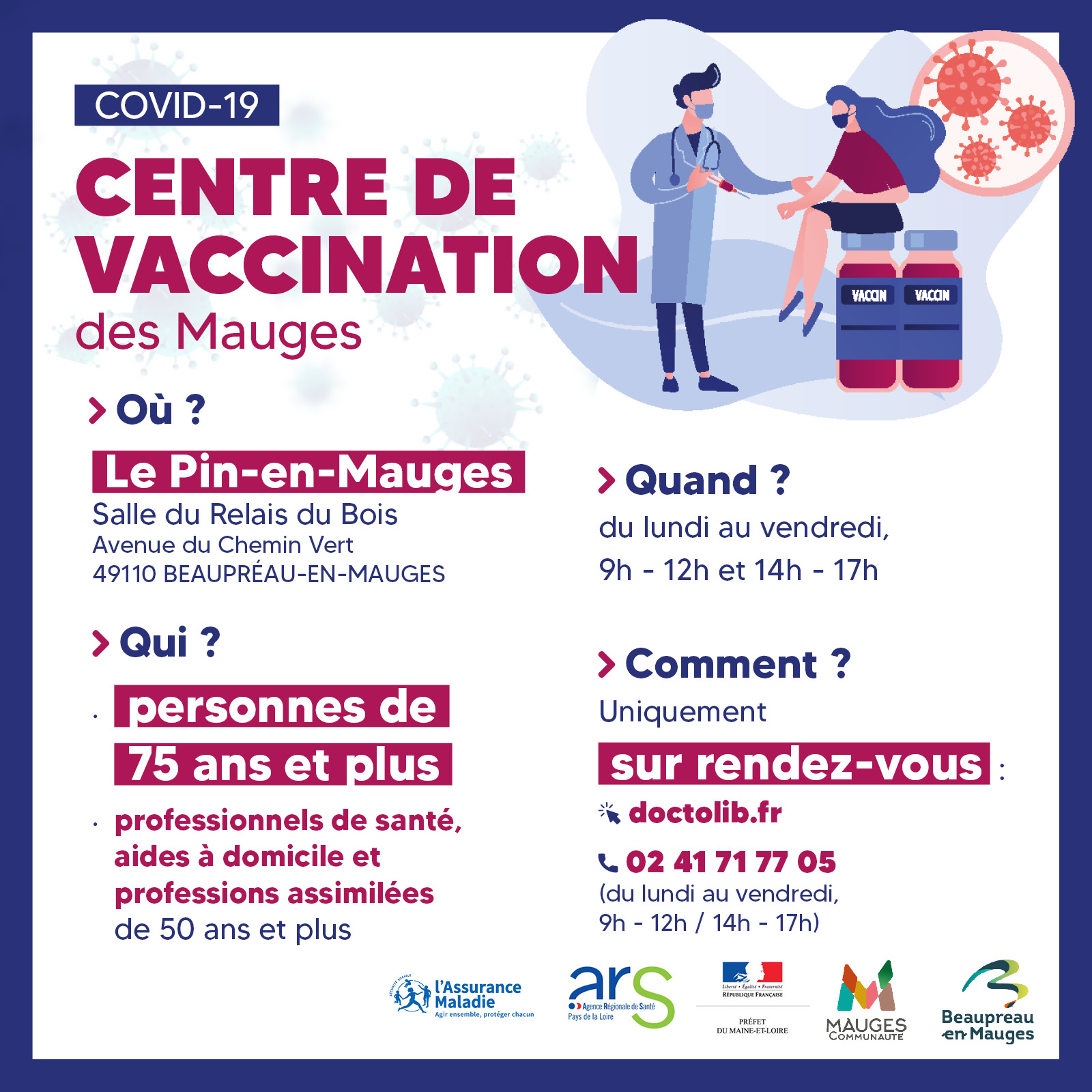 SITE centre vaccination